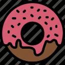 cooking, donut, food, gastronomy, glazed