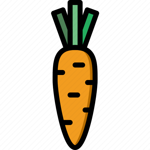 carrot, cooking, food, gastronomy icon