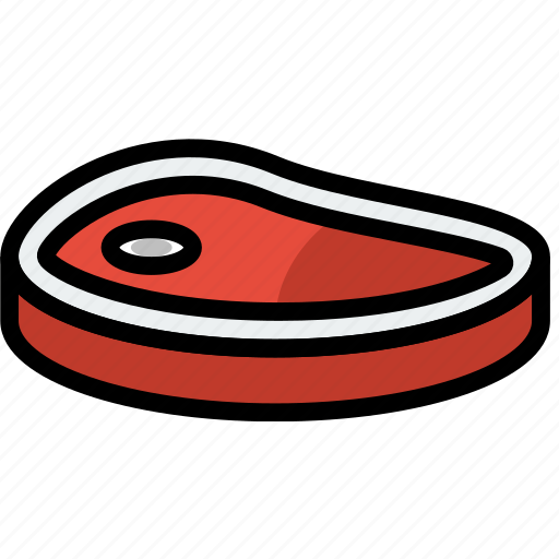 cooking, food, gastronomy, steak icon