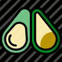 avocado, cooking, food, gastronomy icon