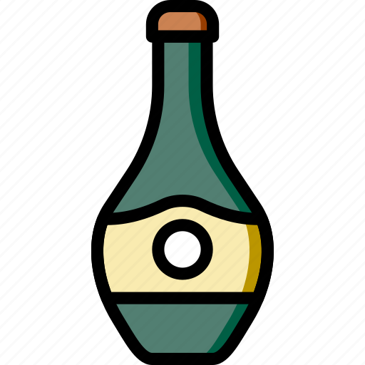 alcohol, bottle, cooking, food, gastronomy icon