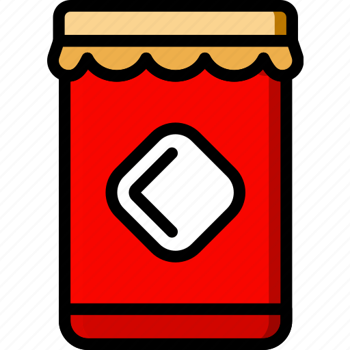 cooking, food, gastronomy, jar, marmalade icon
