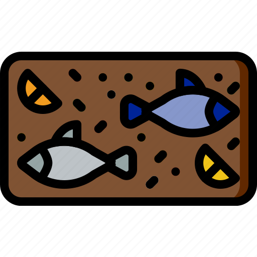 cooking, fish, food, gastronomy, grilled icon