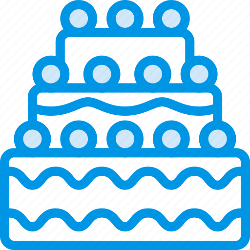 birthday, cake, cooking, food, gastronomy icon