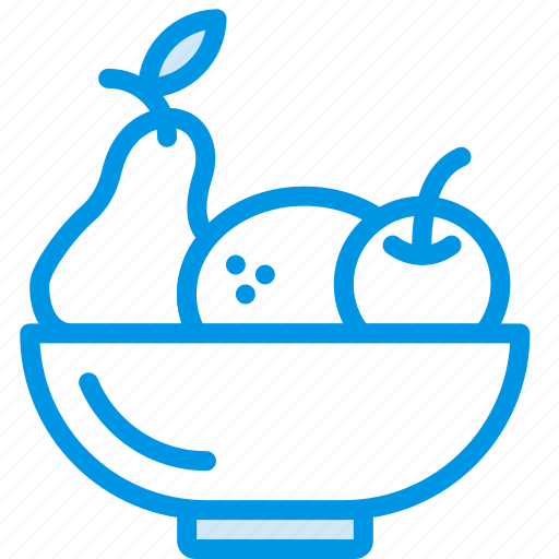 bowl, cooking, food, fruit, gastronomy icon