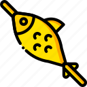 cooking, fish, food, fried, gastronomy icon