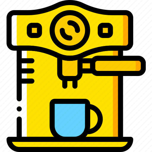 cooking, expresso, food, gastronomy, machine icon