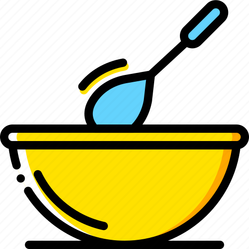 cooking, dough, food, gastronomy, stir icon