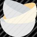 aluminium, bowls, dishes, food, plates icon
