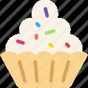 cupcake, food, muffin, sugar, sweet icon
