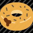 dessert, doughnut, food, sugar, sweet icon