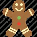dessert, food, gingerbread, sugar, sweet icon