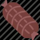 food, ham, ham leg, pork, pork leg icon