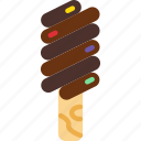cream, dessert, ice, sugar, sweet icon