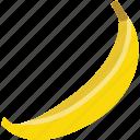 banana, food, fruit, vegan, vegetarian icon