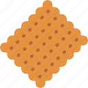 bakery, biscuit, cookie, dessert, food icon