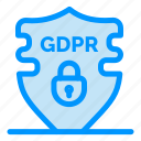 data, gdpr, privacy, security icon