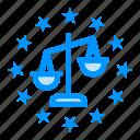 balance, gdpr, justice, law icon