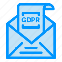 commission, email, european, gdpr, mail icon