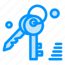 gdpr, key, security icon