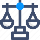justice, justice scale, law, legal, scale icon