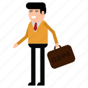 businessman, gdpr, man, personal data, protection icon