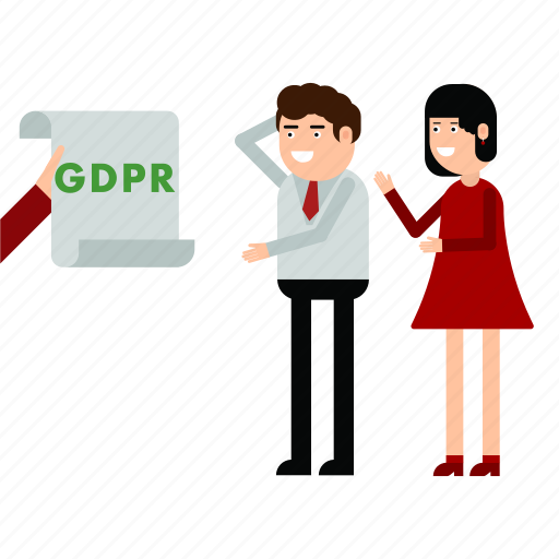 couple, gdpr, personal, privacy, protection, warn icon