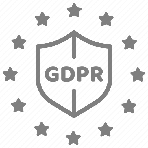 data, eu, gdpr, policy, privacy, protection, security icon