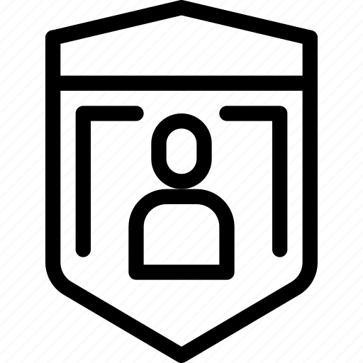 eu, gdpr, secure, security icon, shield, shield icon, user icon