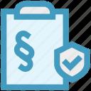 accept, checkmark, clipboard, document, list, secure, shield