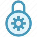 data, gdpr, lock, locked, protect, protection, security icon