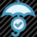 accept, insurance, protection, rain, security, success, umbrella