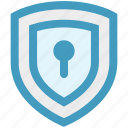 lock, locked, protection, safe, security, shield icon