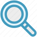 find, glass, magnifier, magnifying, search, view, zoom