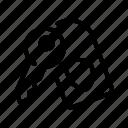 gdpr, lock, security, tag icon