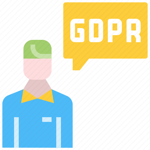 compiliance, data, gdpr, information, personal, user icon
