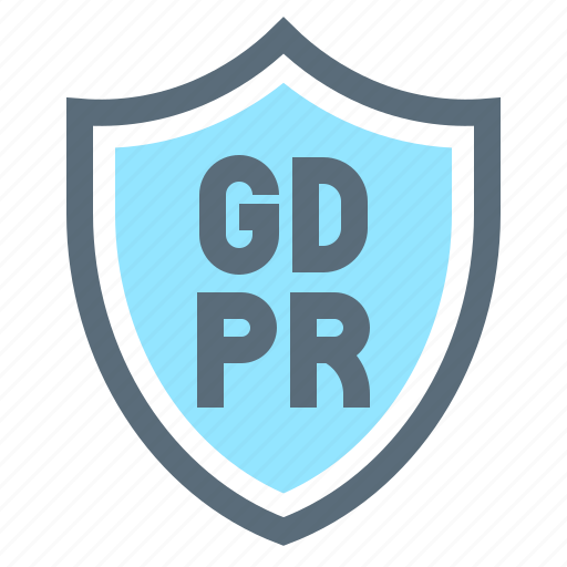 compliance, gdpr, law, protection, regulation, safety, shield icon