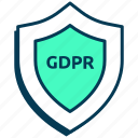 data privacy, firewall, gdpr, password, privacy, protection, security icon