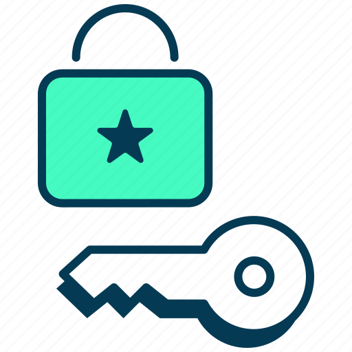 authentication, data privacy, gdpr, lock, login, password, security icon