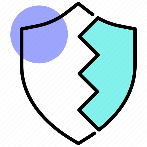 data breach, data protection, data security, data theft, firewall, privacy icon