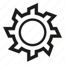 gear, gear wheel, tool icon