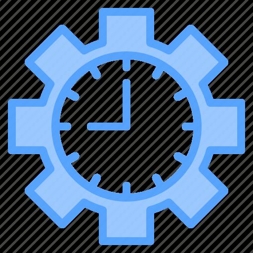 clock, file, folder, gear, lock, search, tool icon