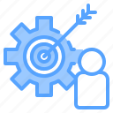 file, folder, gear, lock, people, search, tool icon