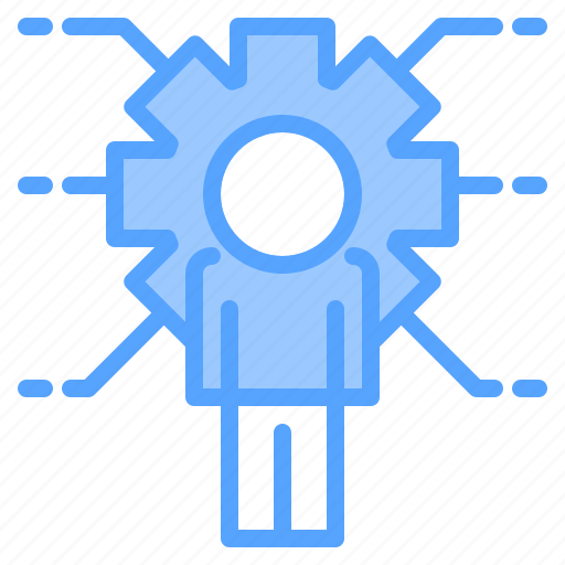 file, folder, gear, people, search, share, tool icon
