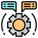 file, folder, gear, lock, message, search, tool icon