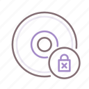 cd, disk, drm, lock