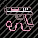 controller, game, gun, sport