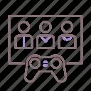 club, gaming, player, video