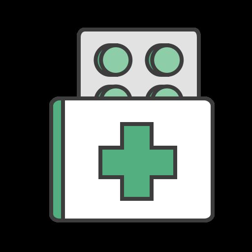 care, health, journey, medicine, pill, pills, travel icon
