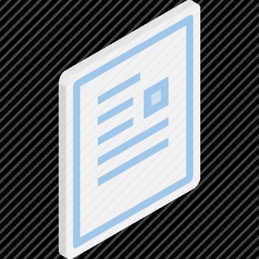 file, files, isometric, microsoft word, word icon